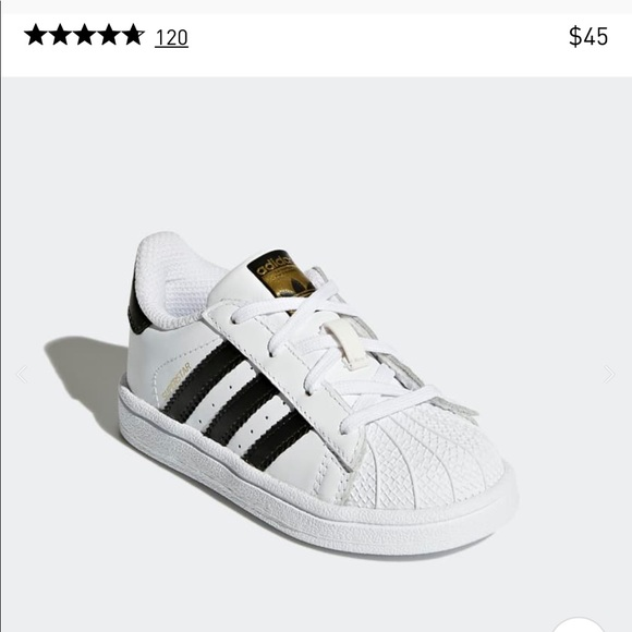 6ca7bbc5ea5b4 adidas Shoes - Adidas superstar 1 baby infant size 3